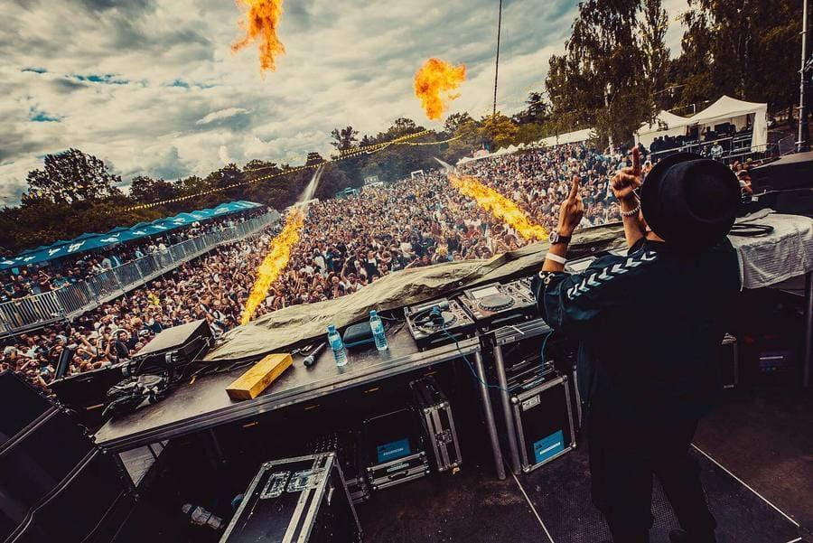 Interview : Damien N-Drix à l'Elektric Park