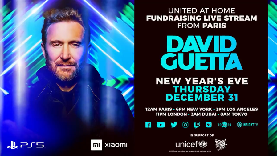 David Guetta - United at Home - Paris édition