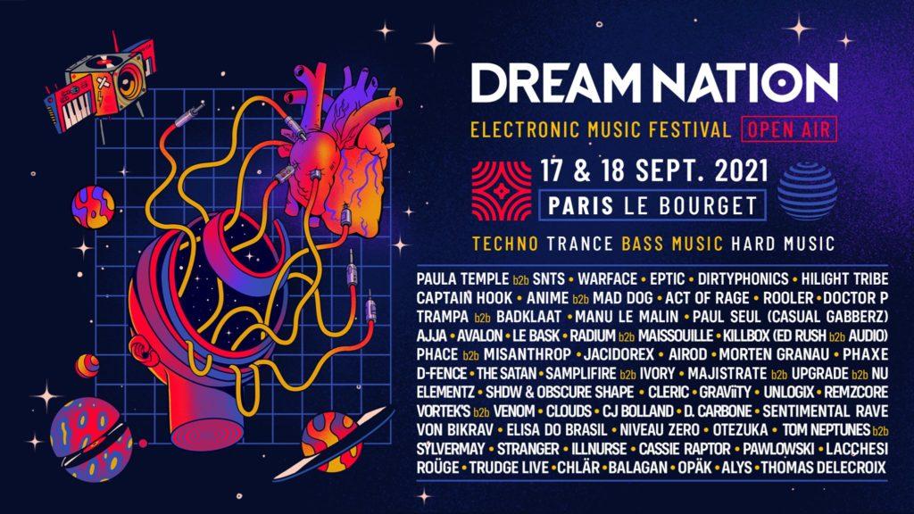 Programmation complète du Dream Nation Festival